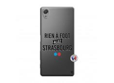 Coque Sony Xperia X Rien A Foot Allez Strasbourg