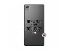 Coque Sony Xperia X Rien A Foot Allez Toulouse