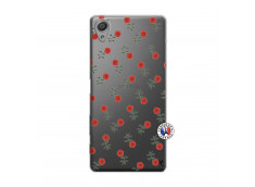 Coque Sony Xperia X Rose Pattern