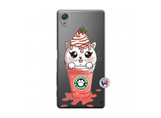 Coque Sony Xperia X Catpucino Ice Cream