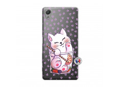 Coque Sony Xperia X Smoothie Cat