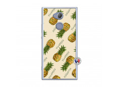 Coque Sony Xperia XA2 Sorbet Ananas Translu