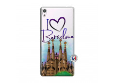 Coque Sony Xperia XA Ultra I Love Barcelona