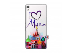 Coque Sony Xperia XA Ultra I Love Moscow