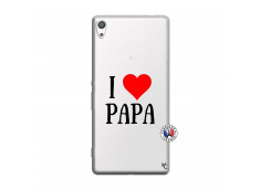 Coque Sony Xperia XA Ultra I Love Papa