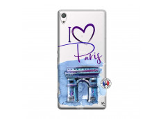 Coque Sony Xperia XA Ultra I Love Paris Arc Triomphe