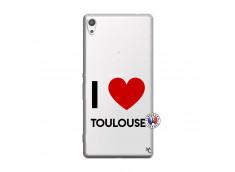 Coque Sony Xperia XA Ultra I Love Toulouse