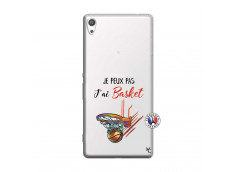 Coque Sony Xperia XA Ultra Je Peux Pas J Ai Basket
