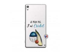 Coque Sony Xperia XA Ultra Je peux pas j'ai cricket