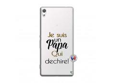 Coque Sony Xperia XA Ultra Je Suis Un Papa Qui Dechire