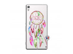 Coque Sony Xperia XA Ultra Pink Painted Dreamcatcher
