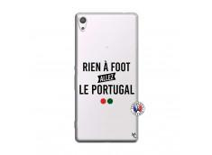 Coque Sony Xperia XA Ultra Rien A Foot Allez Le Portugal