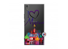 Coque Sony Xperia XA1 Ultra I Love Moscow