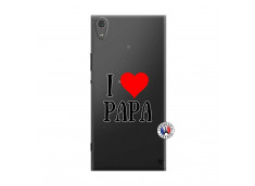 Coque Sony Xperia XA1 Ultra I Love Papa