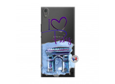 Coque Sony Xperia XA1 Ultra I Love Paris Arc Triomphe