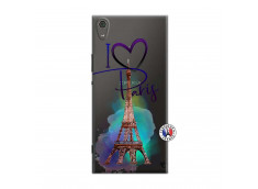 Coque Sony Xperia XA1 Ultra I Love Paris