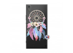 Coque Sony Xperia XA1 Ultra Multicolor Watercolor Floral Dreamcatcher
