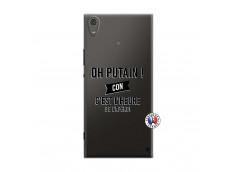 Coque Sony Xperia XA1 Ultra Oh Putain C Est L Heure De L Apero