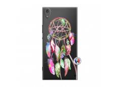 Coque Sony Xperia XA1 Ultra Pink Painted Dreamcatcher