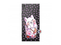 Coque Sony Xperia XA1 Ultra Smoothie Cat