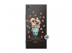 Coque Sony Xperia XA1 Ultra Puppies Love