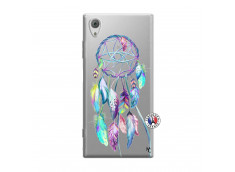 Coque Sony Xperia XA1 Blue Painted Dreamcatcher