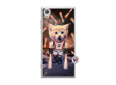 Coque Sony Xperia XA1 Cat Nasa Translu