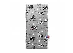 Coque Sony Xperia XA1 Cow Pattern