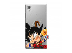 Coque Sony Xperia XA1 Goku Impact