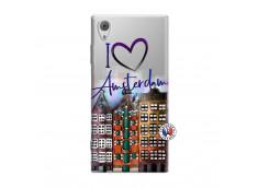 Coque Sony Xperia XA1 I Love Amsterdam