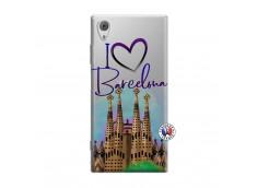 Coque Sony Xperia XA1 I Love Barcelona