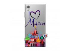 Coque Sony Xperia XA1 I Love Moscow
