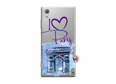 Coque Sony Xperia XA1 I Love Paris Arc Triomphe