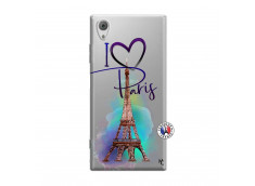 Coque Sony Xperia XA1 I Love Paris