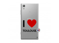 Coque Sony Xperia XA1 I Love Toulouse