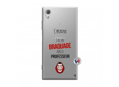 Coque Sony Xperia XA1 J Peux Pas J Ai Un Braquage Avec Le Professeur