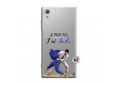 Coque Sony Xperia XA1 Je peux pas j'ai Judo