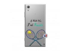 Coque Sony Xperia XA1 Je Peux Pas J Ai Tennis