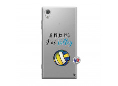 Coque Sony Xperia XA1 Je Peux Pas J Ai Volley