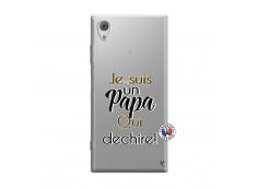 Coque Sony Xperia XA1 Je Suis Un Papa Qui Dechire