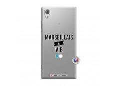 Coque Sony Xperia XA1 Marseillais à Vie