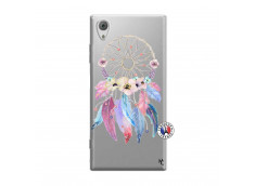 Coque Sony Xperia XA1 Multicolor Watercolor Floral Dreamcatcher