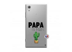 Coque Sony Xperia XA1 Papa Tu Piques