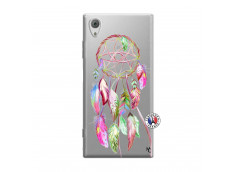 Coque Sony Xperia XA1 Pink Painted Dreamcatcher