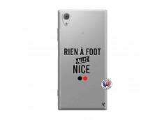 Coque Sony Xperia XA1 Rien A Foot Allez Nice