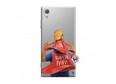 Coque Sony Xperia XA1 Super Papa et Super Bébé