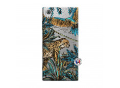 Coque Sony Xperia XA1 Leopard Jungle