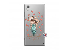 Coque Sony Xperia XA1 Puppies Love