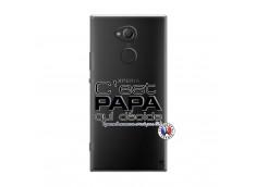 Coque Sony Xperia XA2 Ultra C'est Papa Qui Décide Quand Maman n'est pas là