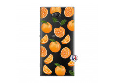 Coque Sony Xperia XA2 Ultra Orange Gina